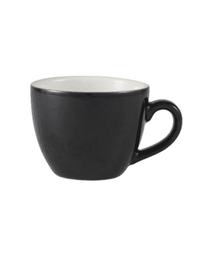 RGW Bowl Shaped Cup 9cl Black - Case Qty 6
