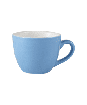 RGW Bowl Shaped Cup 9cl Blue - Case Qty 6