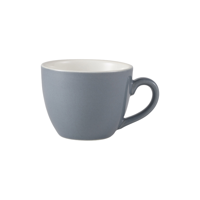 RGW Bowl Shaped Cup 9cl Grey - Case Qty 6