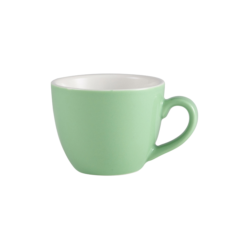 RGW Bowl Shaped Cup 9cl Green - Case Qty 6