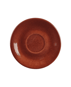 Terra Stoneware Rustic Red Saucer 15cm - Case Qty 12