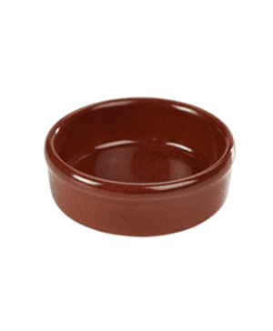 Terra Stoneware Rustic Red Tapas Dish 10cm - Case Qty 12