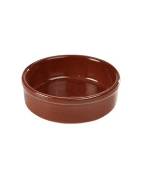 Terra Stoneware Rustic Red Tapas Dish 13cm - Case Qty 12