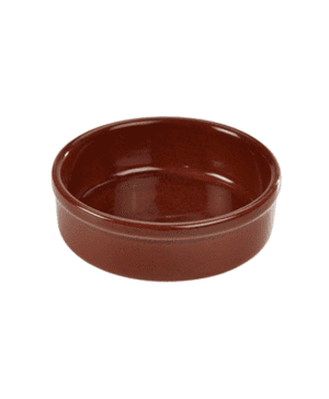 Terra Stoneware Rustic Red Tapas Dish 14.5cm - Case Qty 12