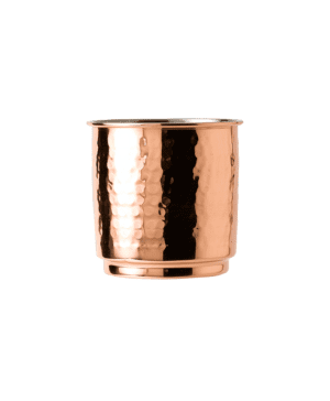 Copper Tumbler Hammered Finish