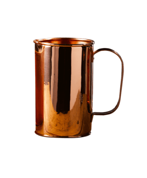 Copper Water Pitcher with Handle