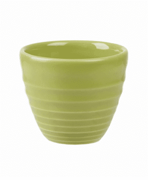 Churchill Bit on the Side Green Ripple Dip Pot