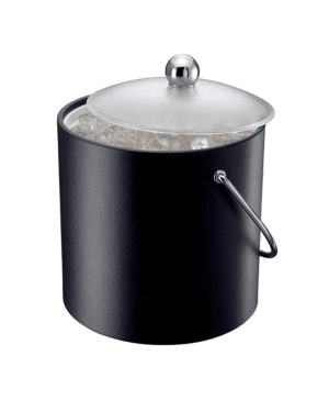 Elia Insulated Ice Bucket with Scoop Black 3lt 5.25pt - Case Qty 1 Case Qty 1
