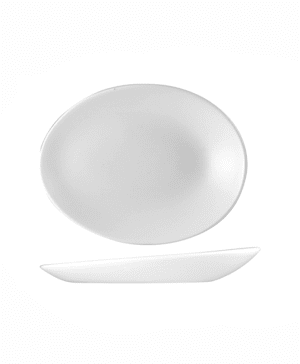 Churchill Orb Oval Plate 25 x 19.4 x 3.2cm - CASE QTY 12