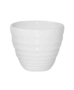 Churchill Bit on the Side White Ripple Dip Pot