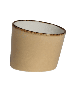 Terramesa Wheat Pot Tilt 7.5x7.9cm 3x3 1 / 2  - CASE QTY - 12