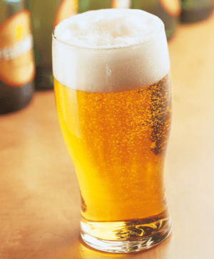 Nucleated Beer Glasses